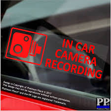 In Car Camera Recording RED-Window Stickers-87x30mm-CCTV Sign-Van ... Grumpy Cat Flippin Off Vinyl Car Laptop Graphics Window Sticker Gps Vehicle Alarm Tracker Security Stickers Signsfor Online Shop 8x Mini Mustaches Funny Window Truck Minitruck Cartel Home Lifted Ebay Diy Tailgate Cars Sexy Girl Wall Living Bedroom Lovely Custom Decals 7th And Pattison 115 Best Trucks Images On Pinterest Bagged Haters Gonna Hate For Its A Thing Cooper 5 X Small In Camera Recording Stickerscctv Amazoncouk Aliexpresscom Buy 3d Rabbit Ear Roof