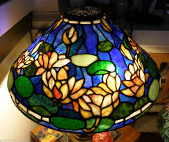 Duffner And Kimberly Lamps by Tiffany Reproduction Stained Glass Lamp Shade 20