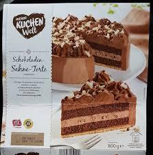 schokoladen sahne torte 800 g