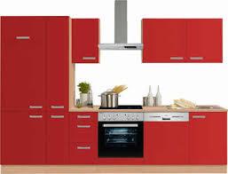 optifit küchenzeile odense ohne e geräte breite 300 cm mit 28 mm starker arbeitsplatte mit gratis besteckeinsatz