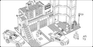 Extraordinary Inspiration Lego City Coloring Pages LEGO Downloads