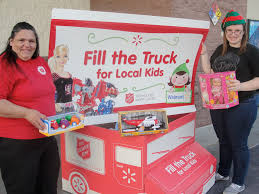 "The Salvation Army And Wal-Mart ""Fill The Truck"" For Local Kids ..."