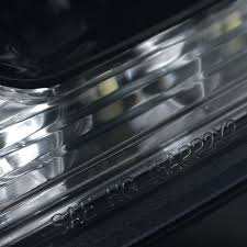 2009 lexus is250 led drl turn signal projector headlights
