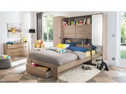 conforama chambre à coucher lit 140 cm tiroir vision coloris chêne liège vente de lit