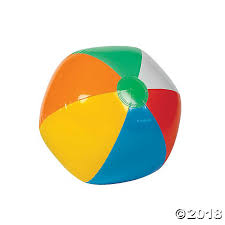 Inflatable Large Classic Beach Balls
