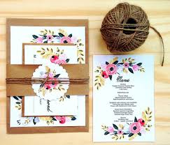 Invite Your Family And Friends To Wedding Celebrations In A Stylish Manner That Inspires Beauty Class With This Invitation Theme Is