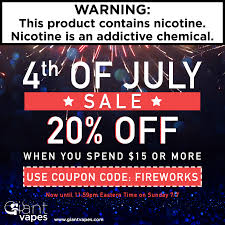 Independence Day - Save 20% Off EVERYTHING At Giant Vapes ... Giant Vapes On Twitter Save 20 Alloy Blends And Gvfam Hash Tags Deskgram Vape Vape Coupon Codes Ocvapors Instagram Photos Videos Vapes Coupon Code Black Friday Deals Vespa Scooters Net Memorial Day Sale Off Sitewide Fs 25 Infamous For The Month Wny Smokey Snuff Coupons Giantvapes Profile Picdeer Best Electronic Cigarette Vaping Mods Tanks