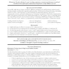 Student Cover Letter Examples No Experience Substitute Teacher Resume Best Resumes Ideas On
