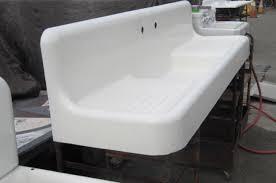 Farmhouse Sink With Drainboard And Backsplash by Farmhouse Sink With Drainboard Uk Sink Ideas