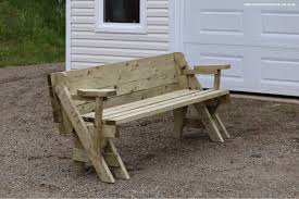 amazing of folding bench picnic table with build a folding picnic