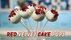 velvet cake pops