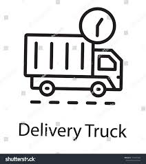 Delivery Truck Clock Offering Delivery Truck Stock Vector (Royalty ... Vector Delivery Truck Icon Isolated On White Background Royalty Stock Art More Images Of Adhesive Truck Icon Flat Free Image Designs Mein Mousepad Design Selbst Designen Style Illustration Delivery Image Clock Offering Getty 24 7 Website Button