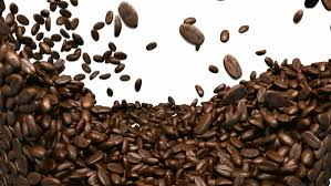 Coffee Beans On White Background Royalty Free Stock Video In 4K And HD