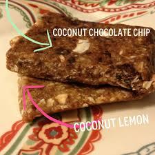 Two New Homemade Lara Bar Flavors 1 Coconut Lemon C Dates