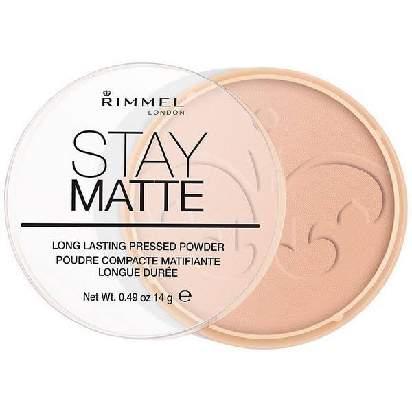 Rimmel London Stay Matte Pressed Powder - 006 Warm Beige