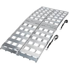 Ultra-Tow Bi-Fold Arched Aluminum Loading Ramp Set — 3000-Lb ... M8440 Alinum Nonfolding Motorcycle Ramps Youtube Atv Larin Foldable Truck Ramp Set 99942 Roof Racks 71 X 48 Bifold Or Trailer Loading Link Mfg Flat Mount Inlad Van Company Single 75 Dirt Bike Allinum Folding Helpuload 8 Ft 912 In 2400 Lbs Load Princess Auto Titan Plate Fold 90 Pair Lawnmower Black Widow Extrawide Punch Trifold Amazoncom Accsories Automotive
