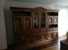wohnzimmerschrank eiche rustikal aus nachlassauflösung