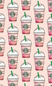 Cute Starbucks Wallpaper Pink