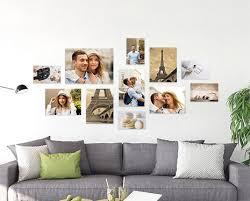 bilderwand gestalten deinen fotos gratis vorlagen