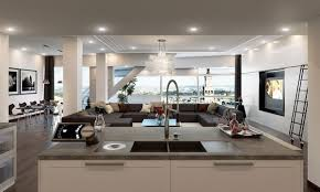 Luxury Modern Contemporary Home Interiors Fresh At Interior Design