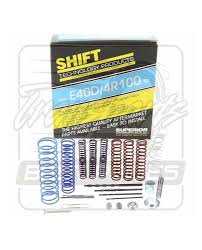 100 Ford Truck Transmissions E4OD E40D 4R100 Transmission Superior Valve Body Shift Kit