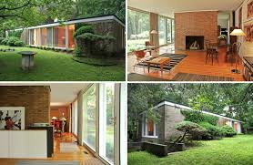100 Home Designed First Home Designed By Philip Johnson Seeks 1M And A