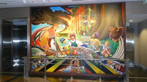 Denver Airport Murals Conspiracy Theory by Found In Denver Airport It U0027s A Sticker Rebrn Com
