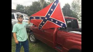100 Confederate Flag Truck Photos Clay High Schooler Told To Take Down Flag From