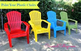 Red Patio Furniture Pinterest by Paint Your Plastic Chairs Painting Plastic Chairs Spray