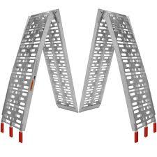 Titan 7.5' Aluminum Plate Fold ATV Loading Ramp 90