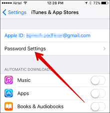How to Manage iTunes & App Store Passwords Preferences in iOS 10