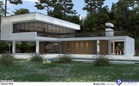 100 Villa In Combination Of Terior And Exterior Space In A Modern