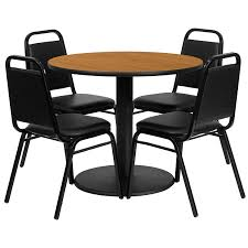 Amazon.com - Flash Furniture 36'' Round Black Laminate Table Set ... Cocktail Tables Celebrations Party Rentals Square Wooden Banqueting Table In An Assortment Of Sizes How Many Guests Can I Seat At My Tablebasescom Australian Smline Trtles Is Australias Leading Supplier And Chairs Redwood City Ca Aabco Rents Sells Inc Tables Pogo 36 Round Wood Banquet Folding Chairs White Chair 1888builders Wedding Black Laminate Set With 4 Trapezoidal Back A Affair Flash Fniture Tpwal36rdgg Highgloss Walnut