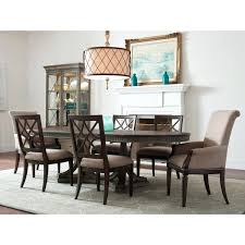 Savona Dining Table Solid Oak Extending Dining Set With 4 Cream