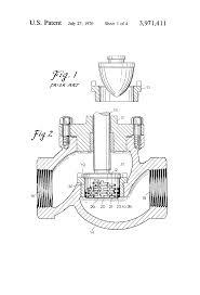 Dresser Masoneilan Pressure Regulator by Patent Us3971411 Variable Resistance Type Throttling Trim