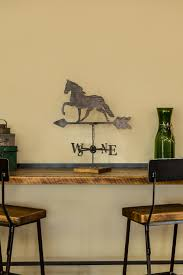 Horse Table Top Weather Vane