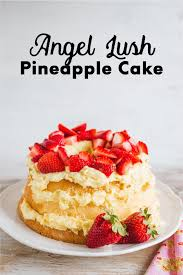Angel Lush Pineapple Cake
