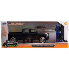 Just Trucks 1:24 Diecast W14 2014 Chevy Silverado, Primer Black ...