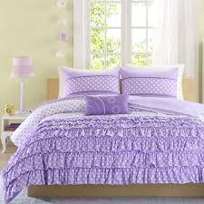 mizone ellen ruffled polka dot comforter set