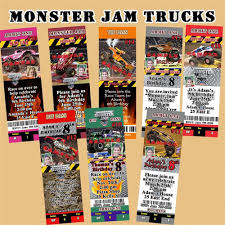 Stylish Monster Jam Birthday Invitations For Additional Free ... Birthday Monster Party Invitations Free Stephenanuno Hot Wheels Invitation Kjpaperiecom Baby Boy Pinterest Cstruction With Printable Truck Templates Monster Birthday Party Invitations Choice Image Beautiful Adornment Trucks Accsories And Boy Childs Set Of 10 Monster Jam Trucks Birthday Party Supplies Pack 8 Invitations