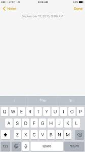 Updated to IOS 9 but my notes app isn t showing the new features