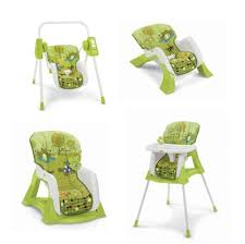 4 In 1 Infant Seat + Infant Swing + High Chair + Toddler ...