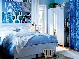 Modest Design Blue Bedroom Decor Room