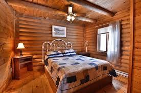 chambre de maitre chambre des maître chalet chêtre photo de la pourvoirie du lac