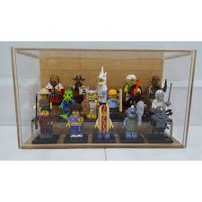 Acrylic Display Case For Lego Minifigures Toys Games On Carousell