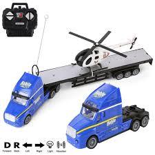 100 1 4 Scale Rc Semi Trucks Amazoncom 5 Electric RC Car Remote Control Super Duty Big