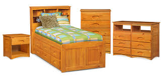 Knotty Pine Bedroom Furniture the ranger bookcase bed collection pine american signature