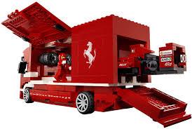100 Ferrari Truck LEGO Racers 8185 Mattonito