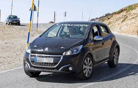 Peugeot s 1008 Baby SUV Hiding Under A 208 Body Is e Cool Mule