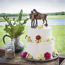 Prairie Rose Western Wedding Cake Topper Thumbnail 1 2